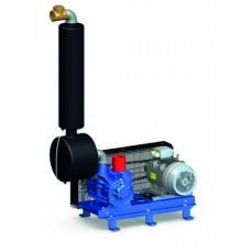 Pompa de vacuum GPV 3300 pe suport 2700L/min.